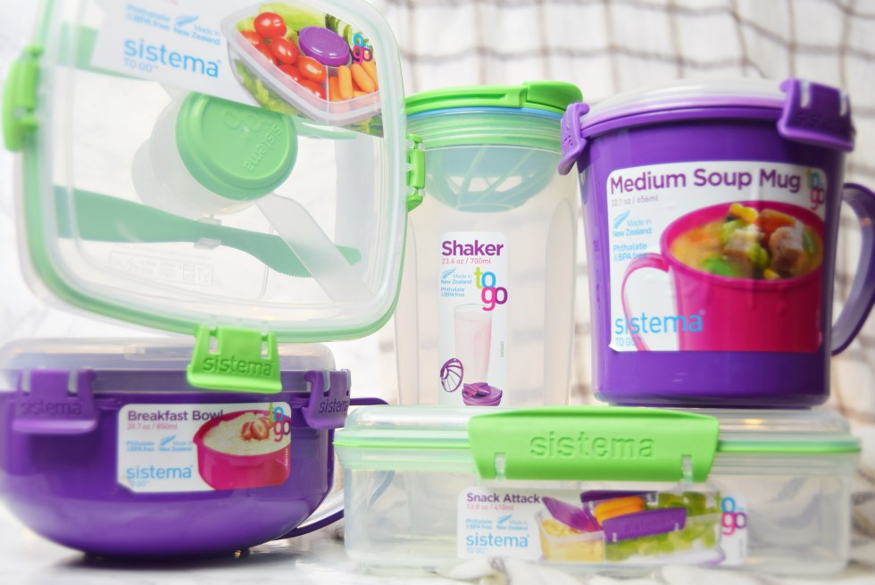 Meal Prep With Sistema To Go Containers