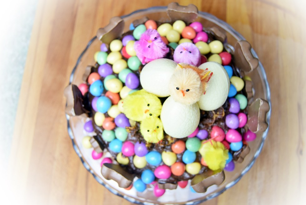 The Perfect Easter Chocolate Cake Recipe - www.wingitwithjade