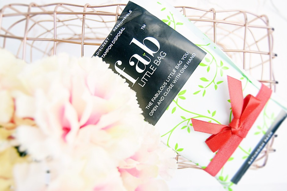 Fab Little Bag discreet tampon disposal - www.wingitwithjade.com