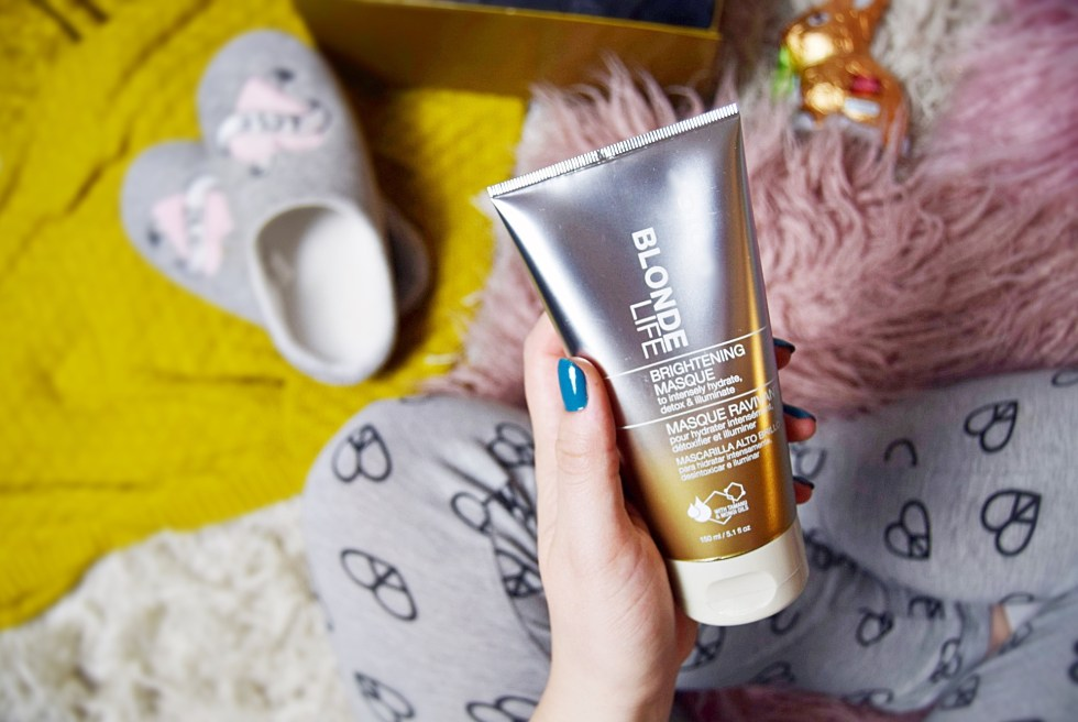 brightening masque JOICO Blonde Life review www.wingitwithjade.com