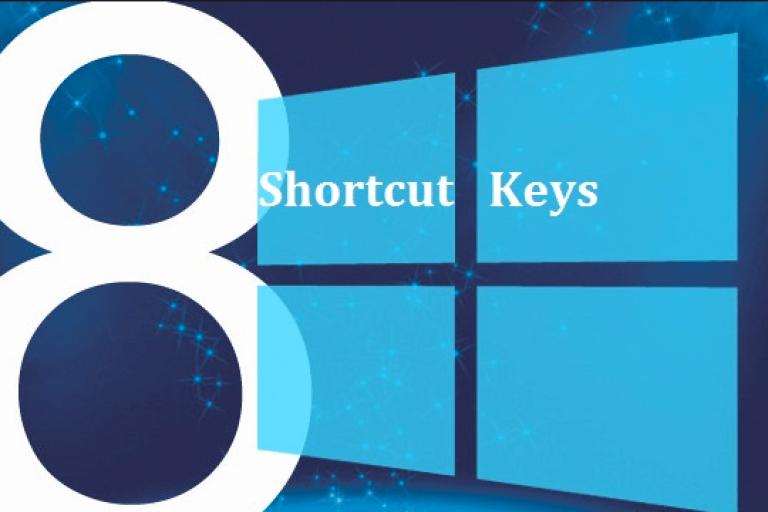 أهم اختصارات لوحة المفاتيح ويندوز 8