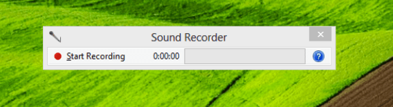 تسجيل الصوت ويندوز 8