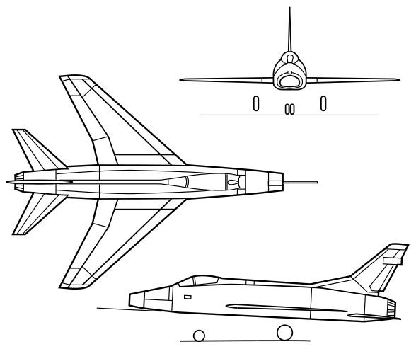 North American F-100 Super Sabre PDF eBook & Flight