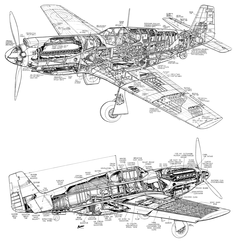 North American P-51 Mustang PDF eBook & Aircraft Flight
