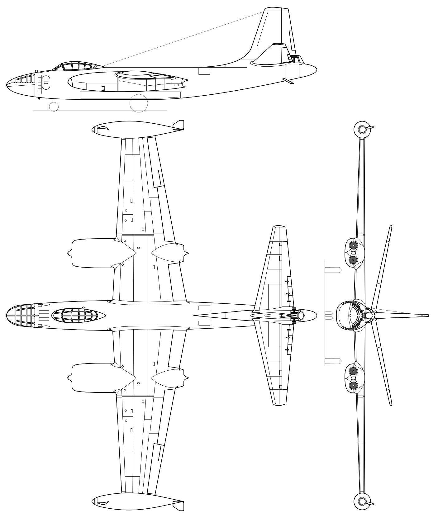 North American B-45 Tornado PDF eBook + Aircraft Flight