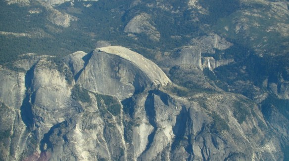 Yosemite's Half Dome from above