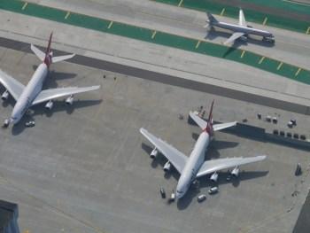 LAX - A380s