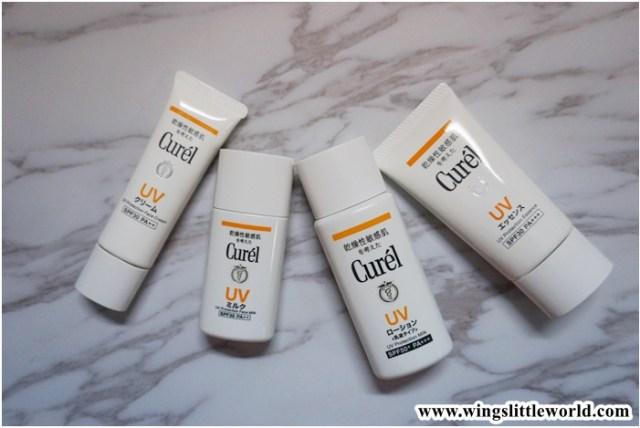 [保養]Curél x 防曬 x 潤浸保濕Ceramide功能成分