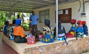 Healthcare in Burundi. Photo republished under a Creative Commons license. Author: Tobin Greensweig