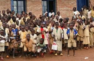 School Children in Burundi