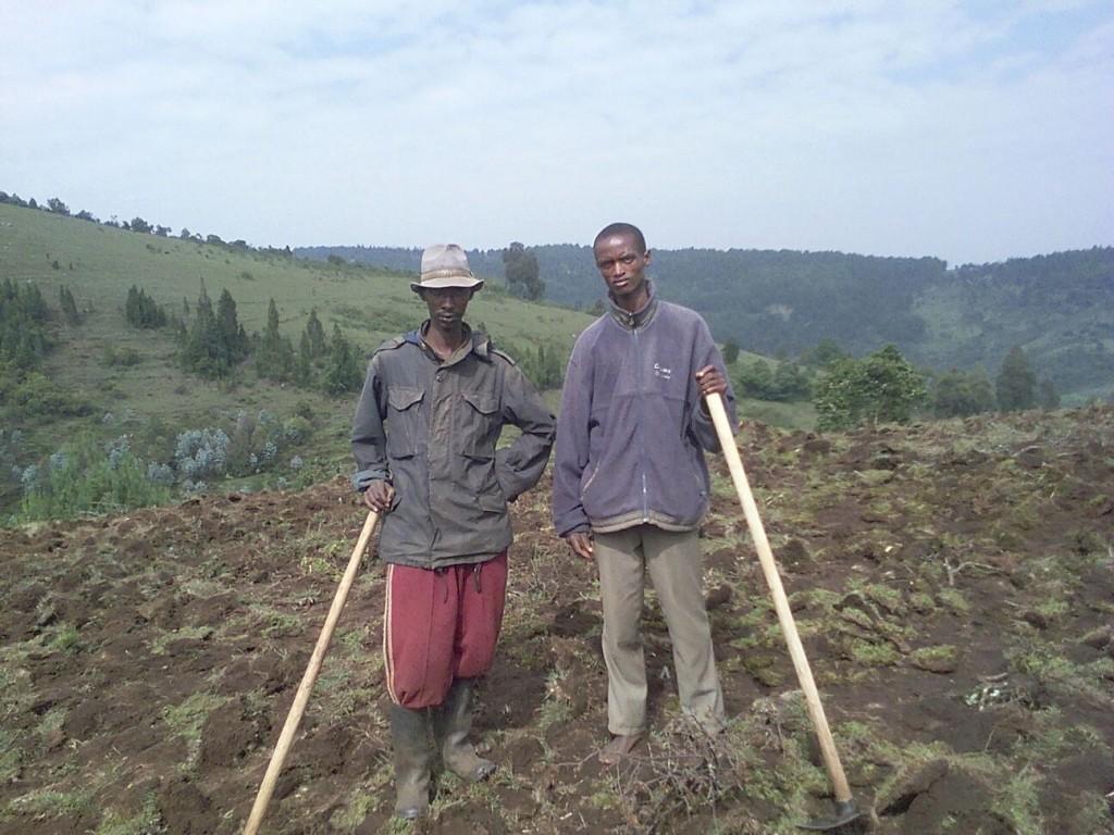 Kivumu Community Garden Wings of Hope for Africa, Burundi
