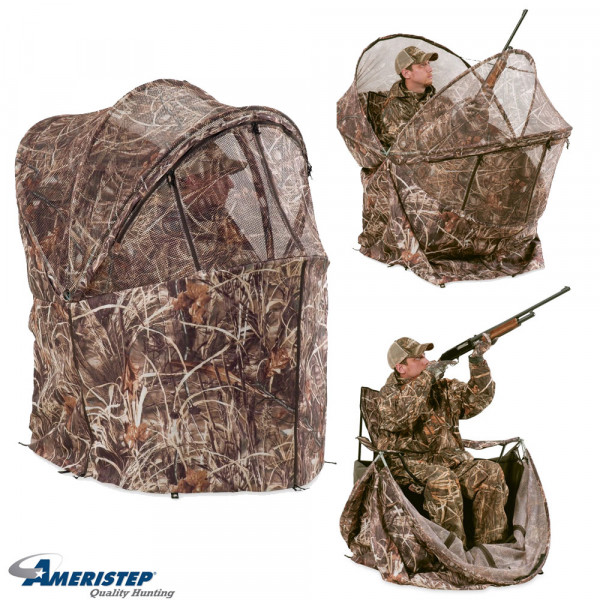 duck blind chair director covers diy ameristep commander rapid shooter wing supply