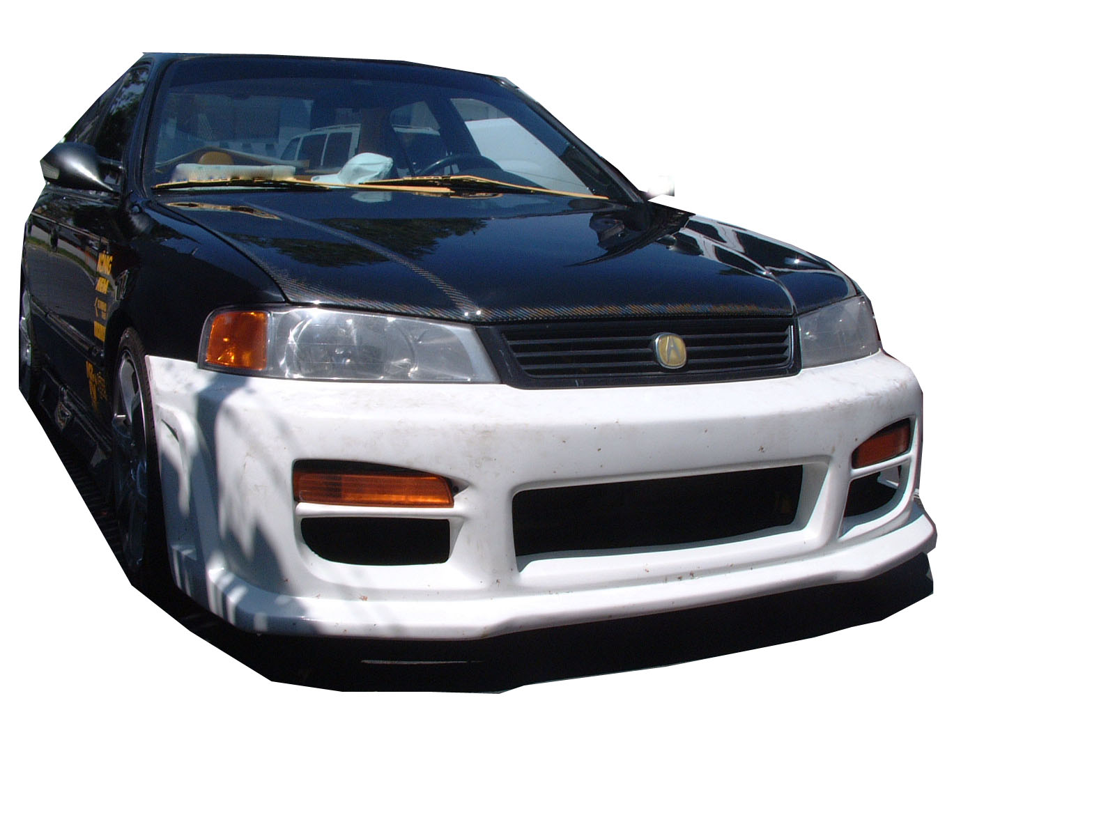 hight resolution of 1997 2000 acura el 4dr octane front bumper