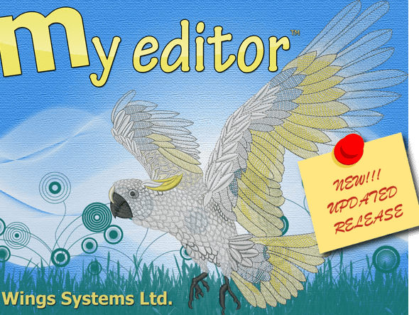 WINGS My Editor FREE embroidery software