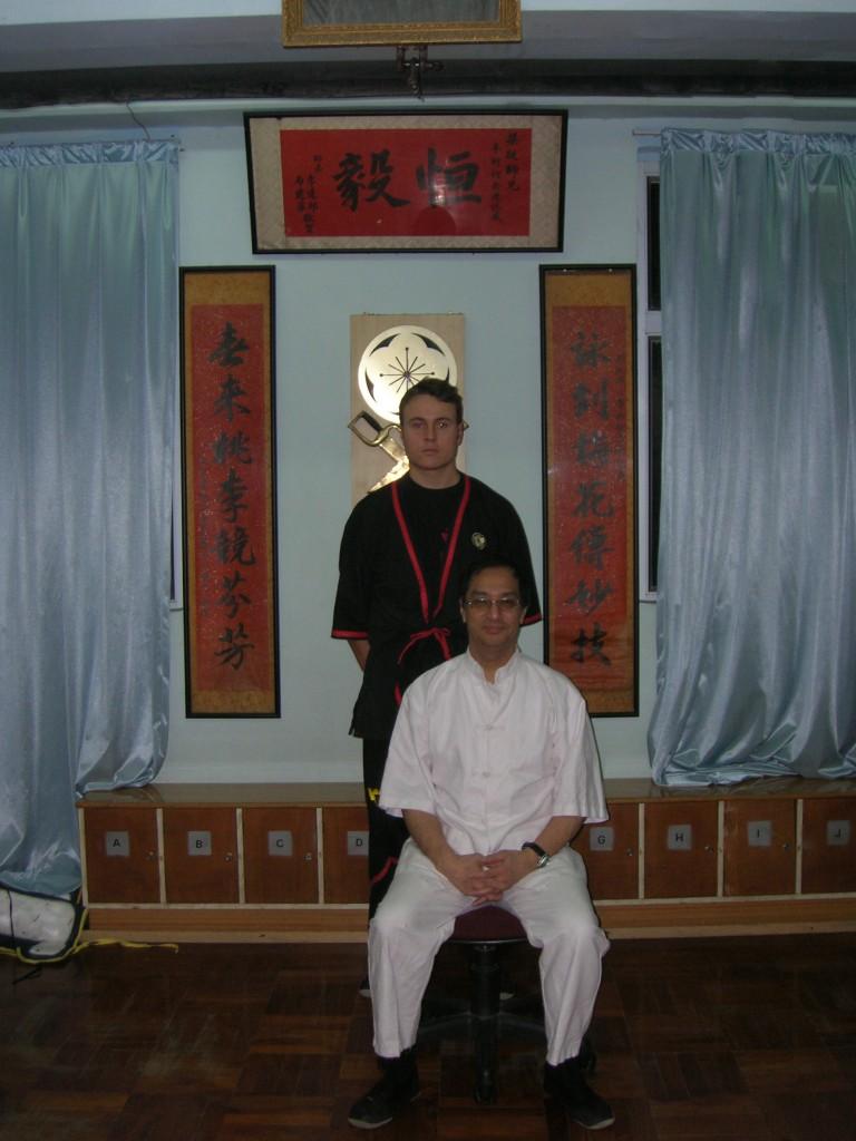 Sfu Colonnata viene accettato da Si Jo Leung Ting come allievo privato
