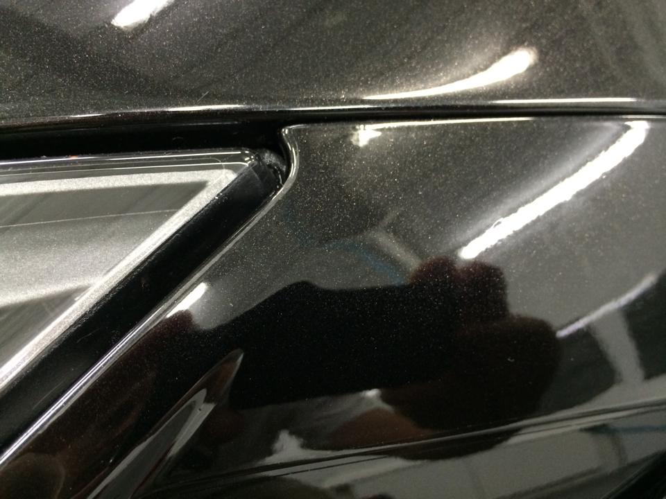 Paint protection film edge work