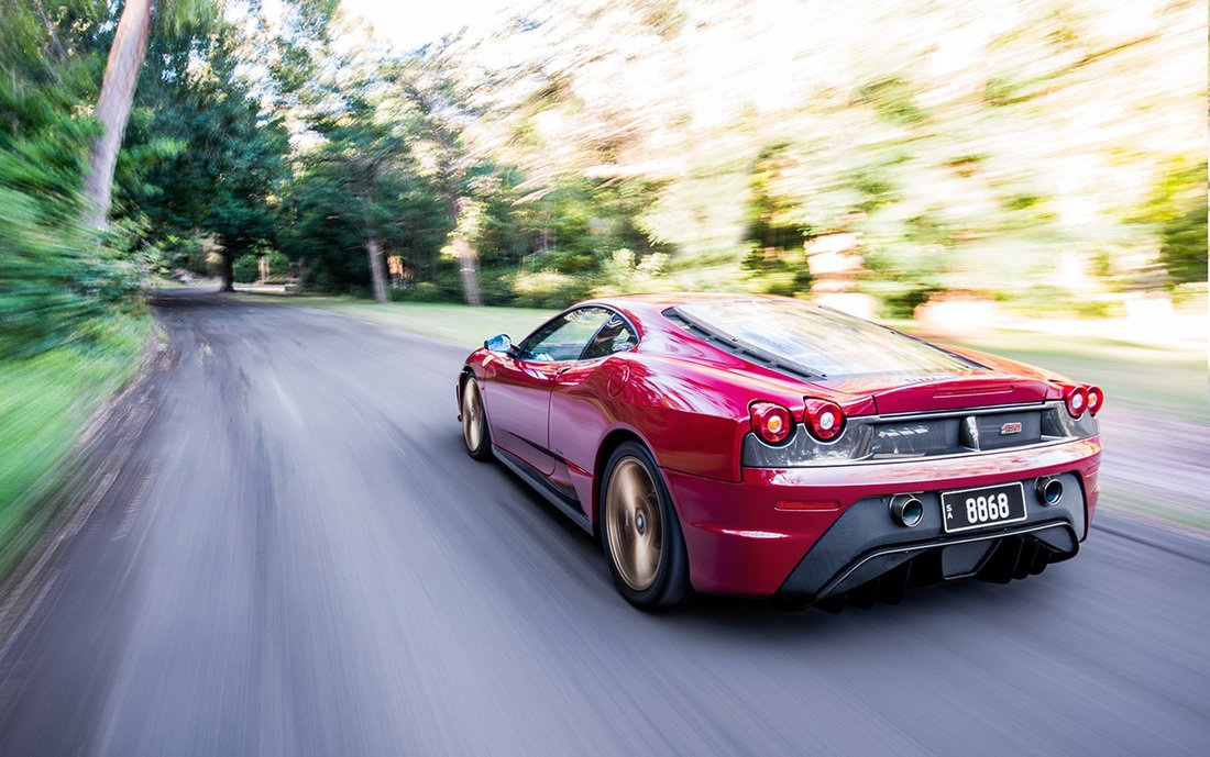 Full body PPF wrap on this Ferrari F430 Scuderia by Winguard. Photo by Epic Images.