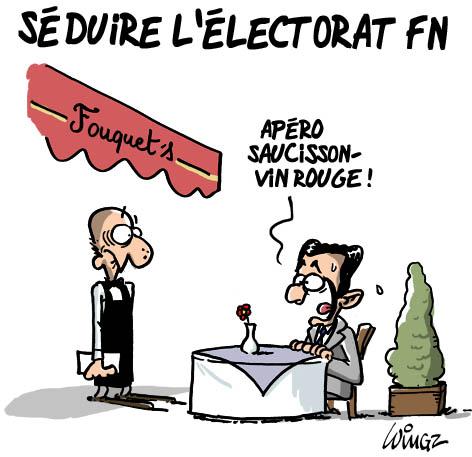 sarkozy veut récupérer l'électorat FN