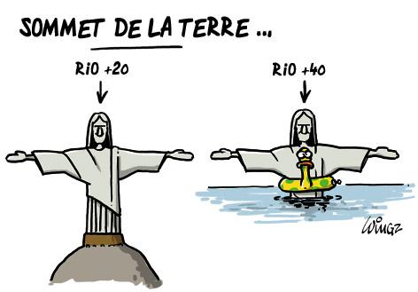 sommet de la terre Rio+20