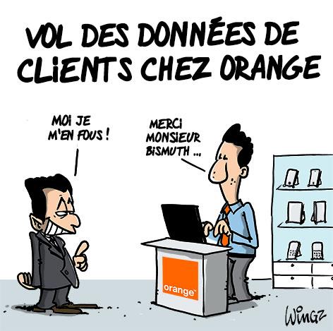 orange piratage de données personnelles de clients