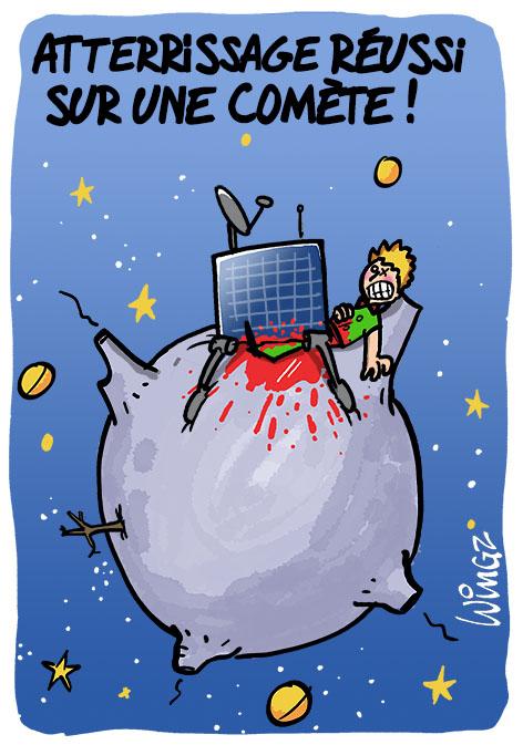 Bon plan sur la com te wingz dessinateur de presse - Plan sur la comete ...