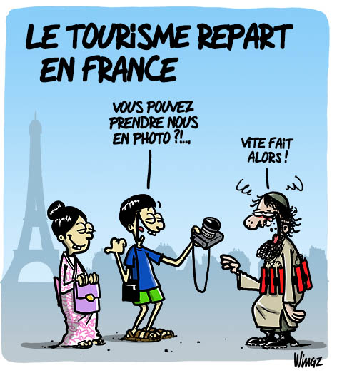 attentats paris touristes