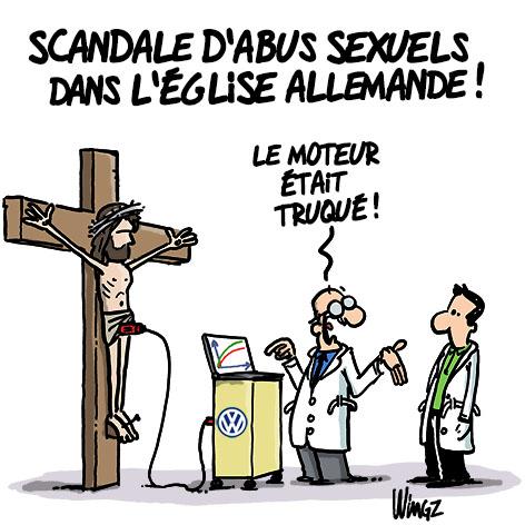 scandale sexuels prêtre