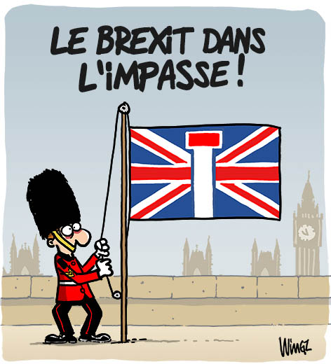 rejet accord brexit may bruxelles europe londres
