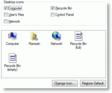 recycle bin does not refresh