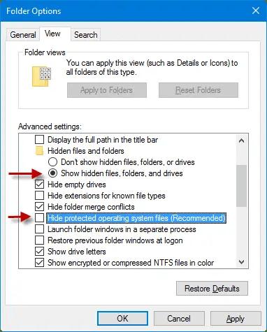 Move or Copy Files in Multiple Sub-Folders