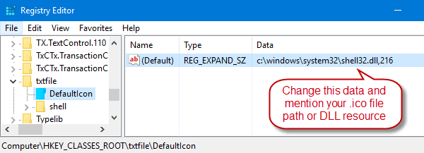 How to Change the Icon for a File Type in Windows? » Winhelponline