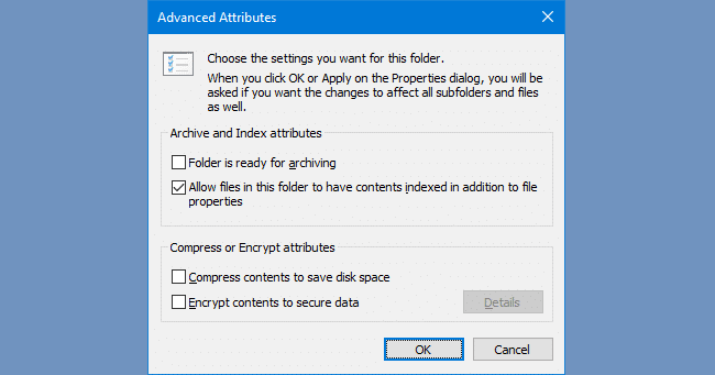 Search Results Empty (No Results) in Windows 10 Settings Page [Fix