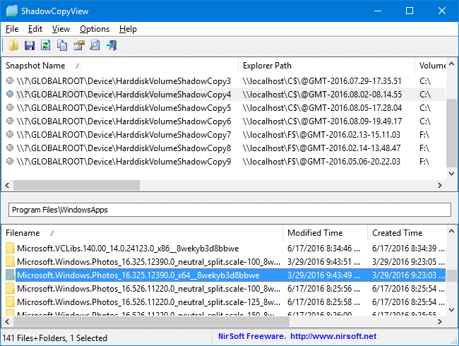 deleted systemapps windowsapps local packages