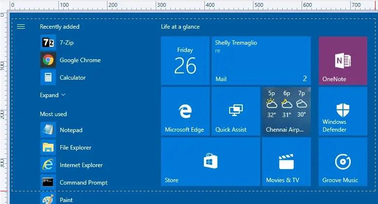 automatically take screenshot and editor