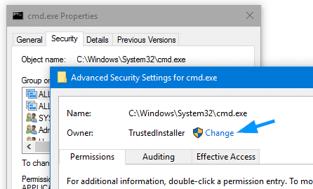 block cmd.exe access for a user