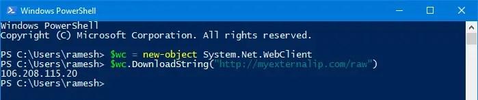 Find Your IP Address in Windows
