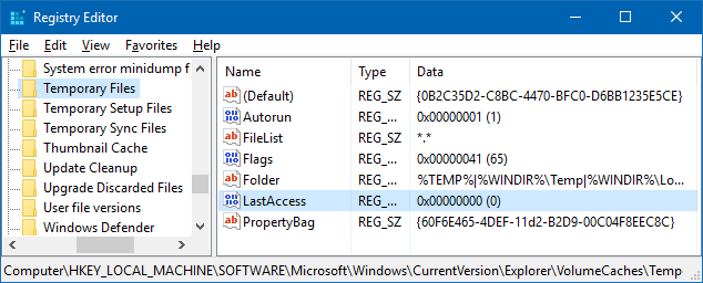 how to cleanup win update tem files