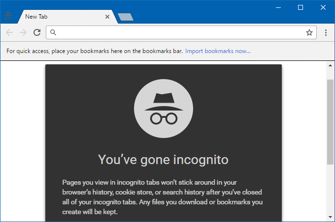chrome incognito light theme