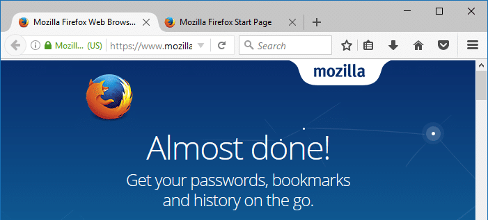 refresh firefox completely