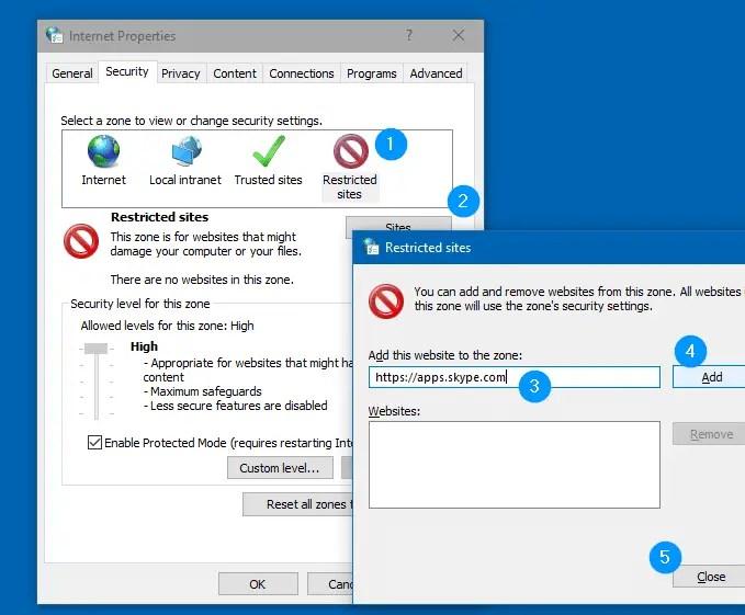 block skype ads in windows