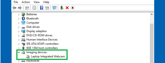 webcam used by which program