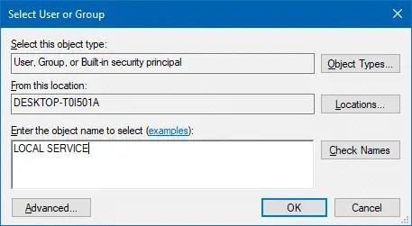 machinekeys folder permissions select users permissions