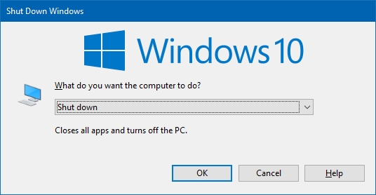 Stop Auto Reopen of Programs after Restart in Windows 10