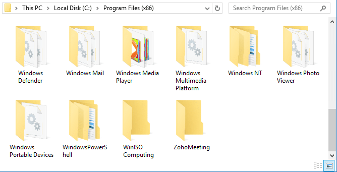 Fix: File and Folder Names Aligned to the Left Instead of