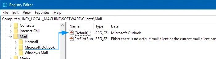 outlook default mail mapi snip tool error