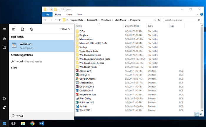 Fix: Start Menu Cortana Search Not Finding Apps - Search