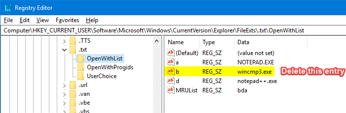 Remove invalid entries from Open with menu and dialog