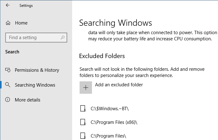 What is Enhanced Search in Windows 10