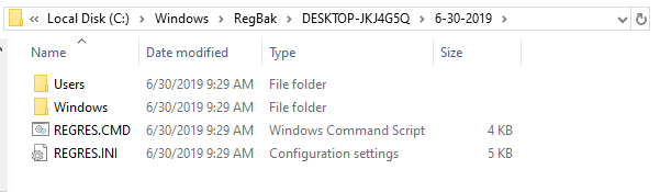 completely backup windows 10 registry - registry backup and restore utility