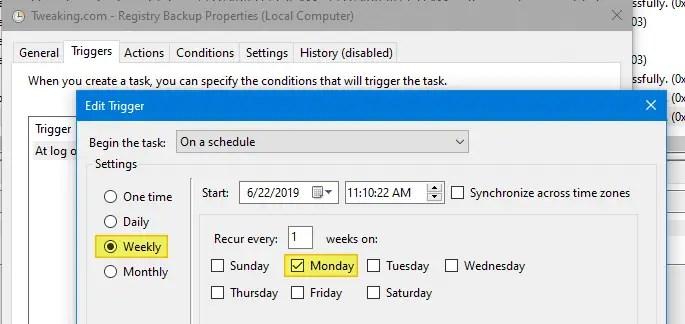 registry backup windows 10 - tweaking.com registry hives regback folder